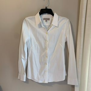 Banana Republic Non Iron Button Up Dress Shirt